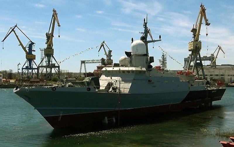 Сегодня в Керчи на воду спустят новый малый ракетный корабль «Аскольд»