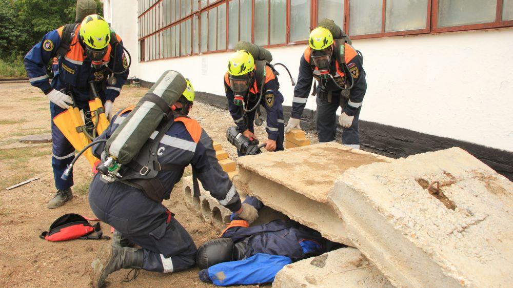 В Крыму завершается командно – штабное учение с органами по ликвидации последствий чрезвычайных ситуаций связанных с сезонными рисками