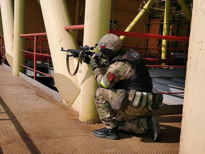 Силовики предотвратили «теракт» на платформе «Черноморнефтегаза»