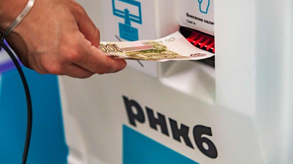 Работа банкоматов и терминалов в Крыму восстановлена