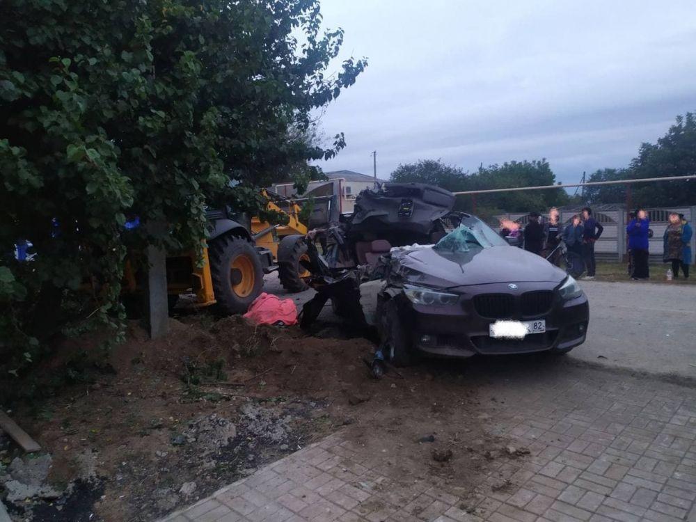 В Красногвардейском районе Крыма произошло смертельное ДТП