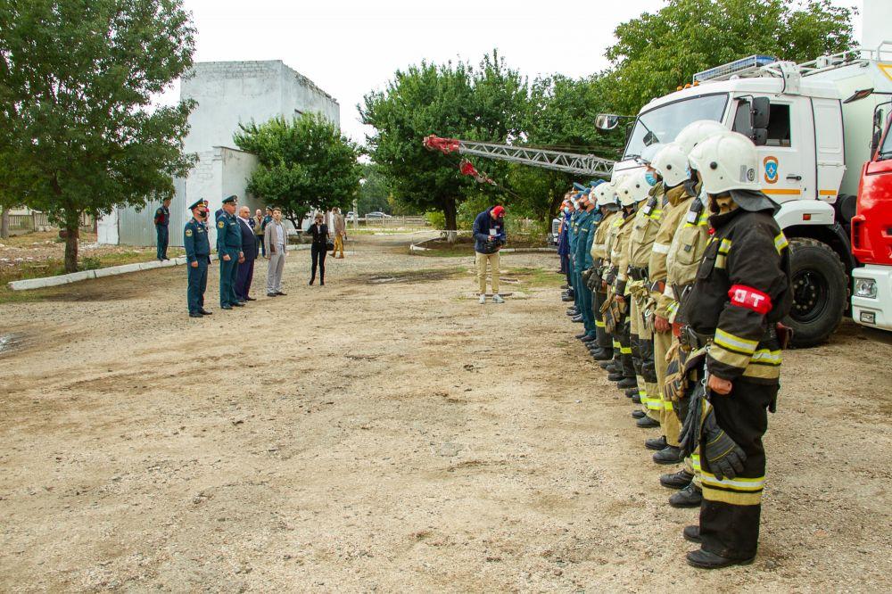 Республика Крым принимает участие в командно-штабных учениях ЮФО