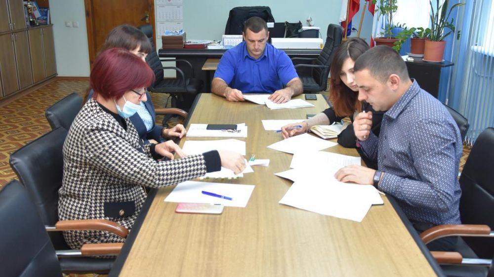 В Красноперекопском городском совете состоялось рабочее совещание