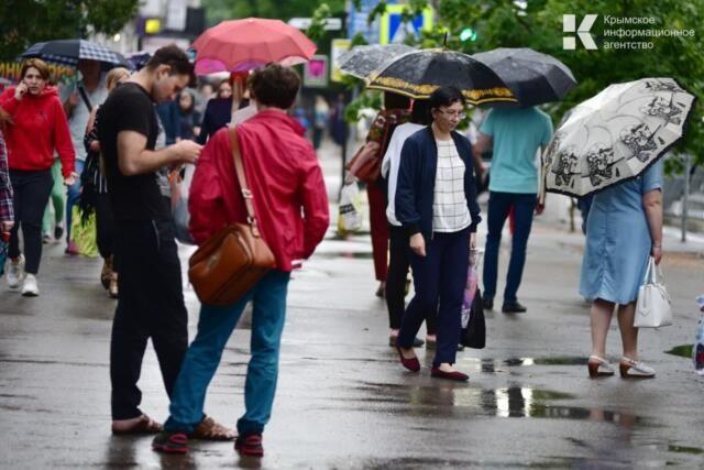 На Крым идут очень сильные дожди