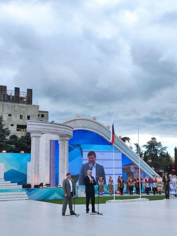 Глава Крыма принимает участие в Фестивале культуры и спорта народов Юга России
