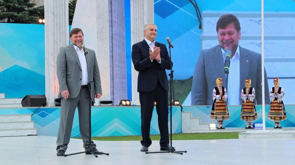 Сергей Аксёнов принял участие в открытии Фестиваля культуры и спорта народов Юга России