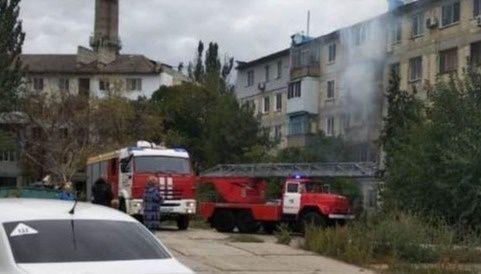 Крымчане благодарят пожарных через социальные сети