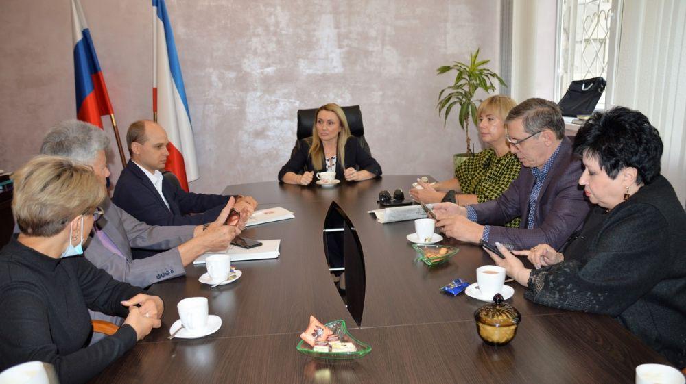 Рабочее совещание с общественными помощниками Уполномоченного по защите прав предпринимателей в Республике Крым
