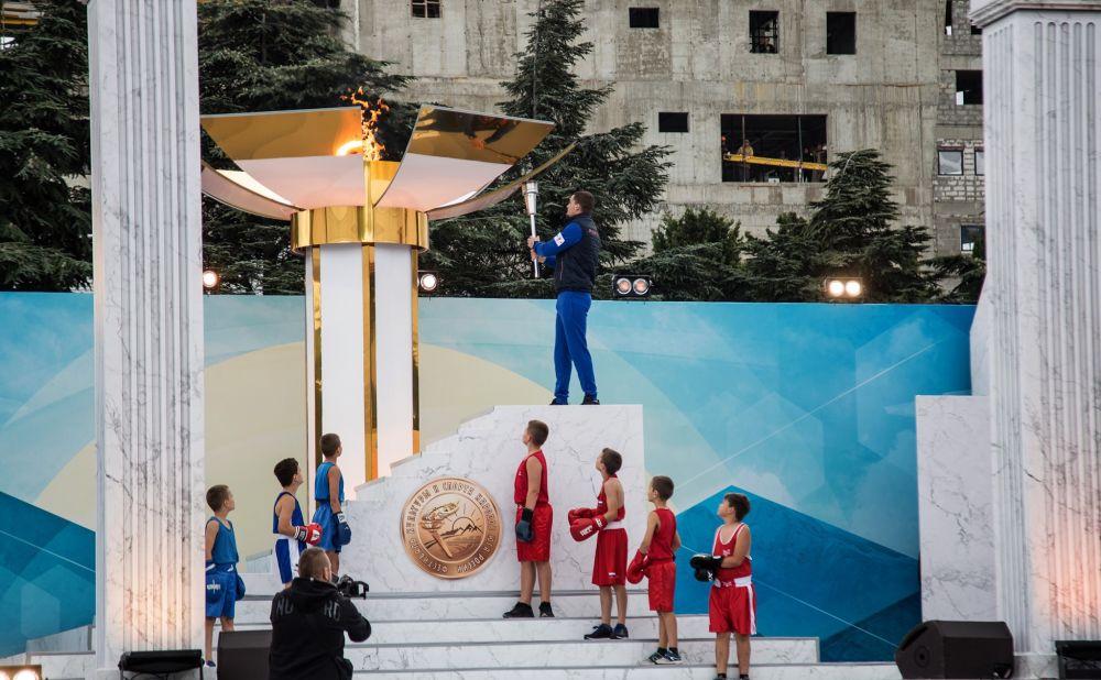 В Алуште стартовал Фестиваль культуры и спорта народов Юга России