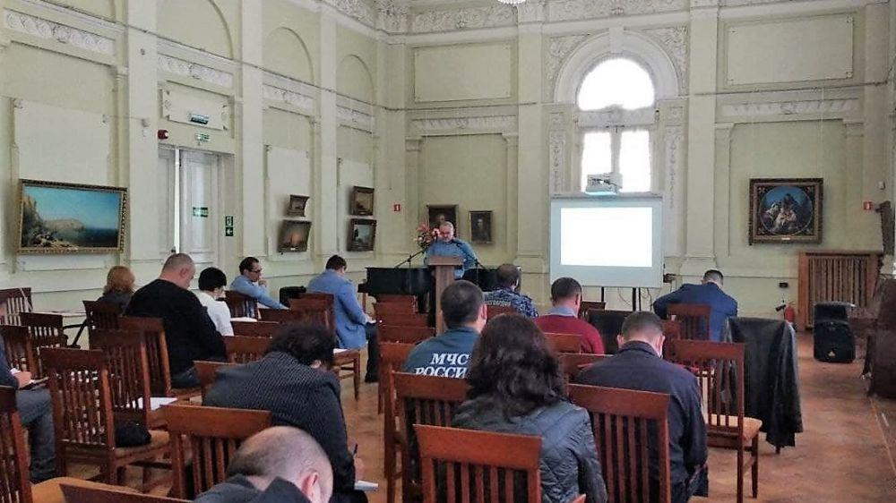 Состоялось очередное заседание Совета по вопросам безопасности музейных учреждений при Министерстве культуры Республики Крым