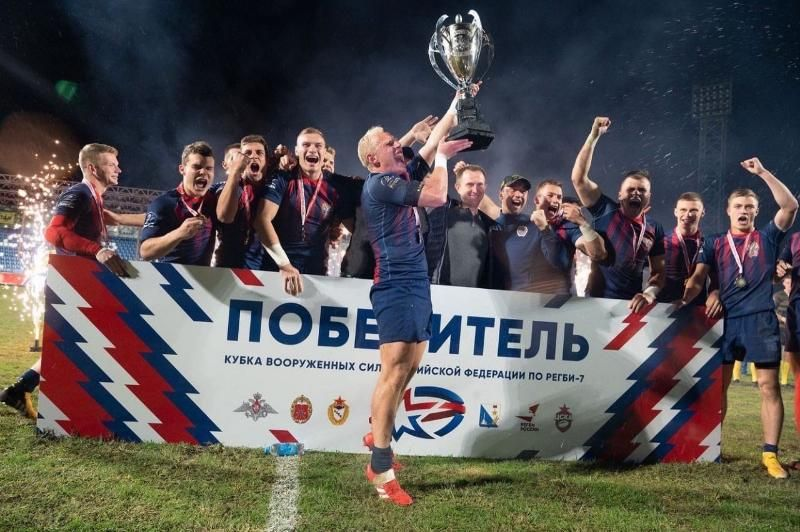 В Севастополе определился обладатель Кубка Вооруженных Сил по регби-7