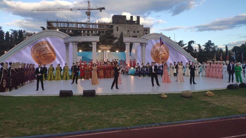В Алуште состоялась церемония закрытия XII Фестиваля культуры и спорта народов Юга России