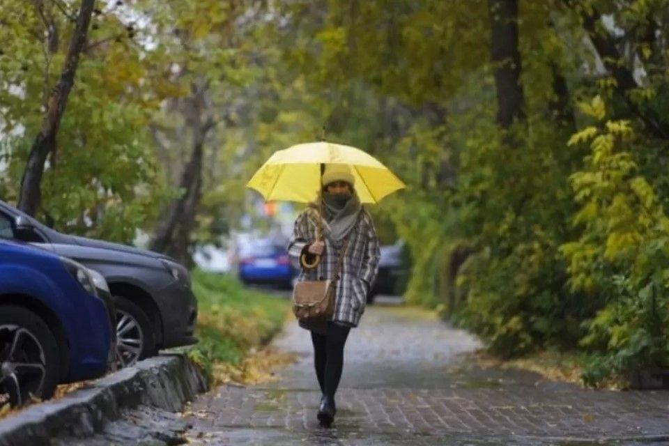 В Крым пришел холодный фронт с сильными дождями