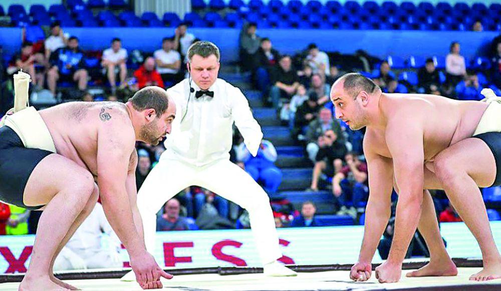 Крымчанин Заур Караев выиграл второй из пяти этапов Кубка Европы по сумо