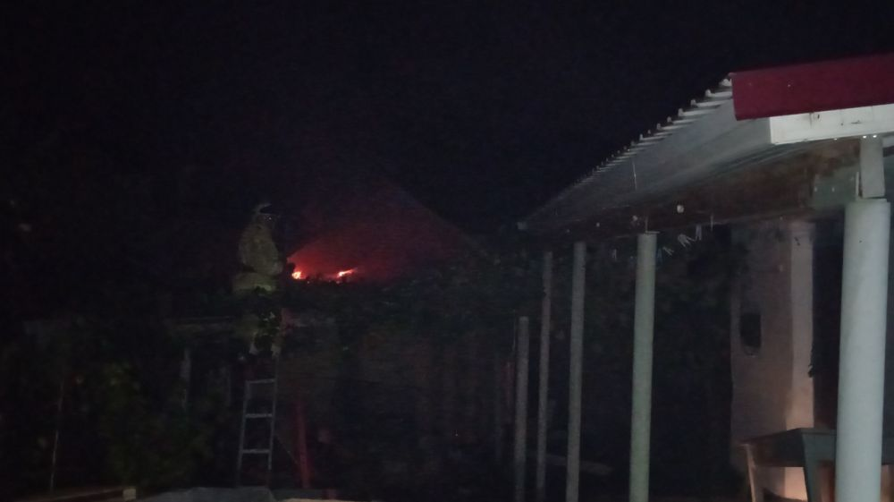 Огнеборцы ГКУ РК «Пожарная охрана Республики Крым» ликвидировали два пожара в Бахчисарайском районе