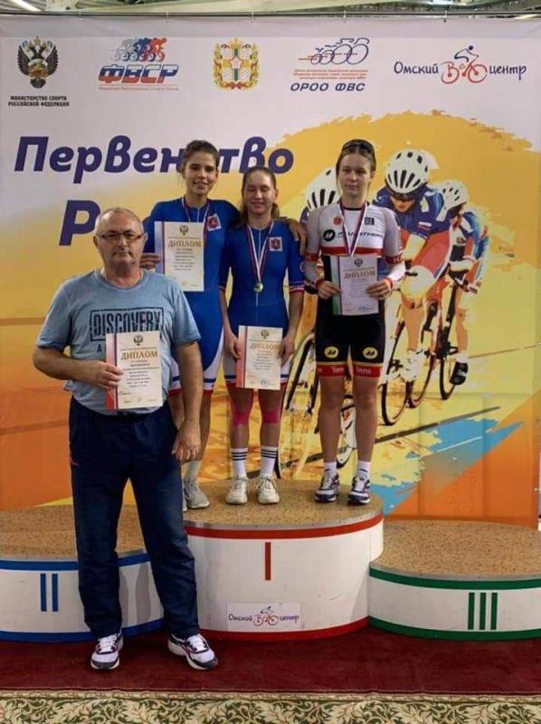 Велосипедистки из Крыма завоевали четыре награды на первенстве России