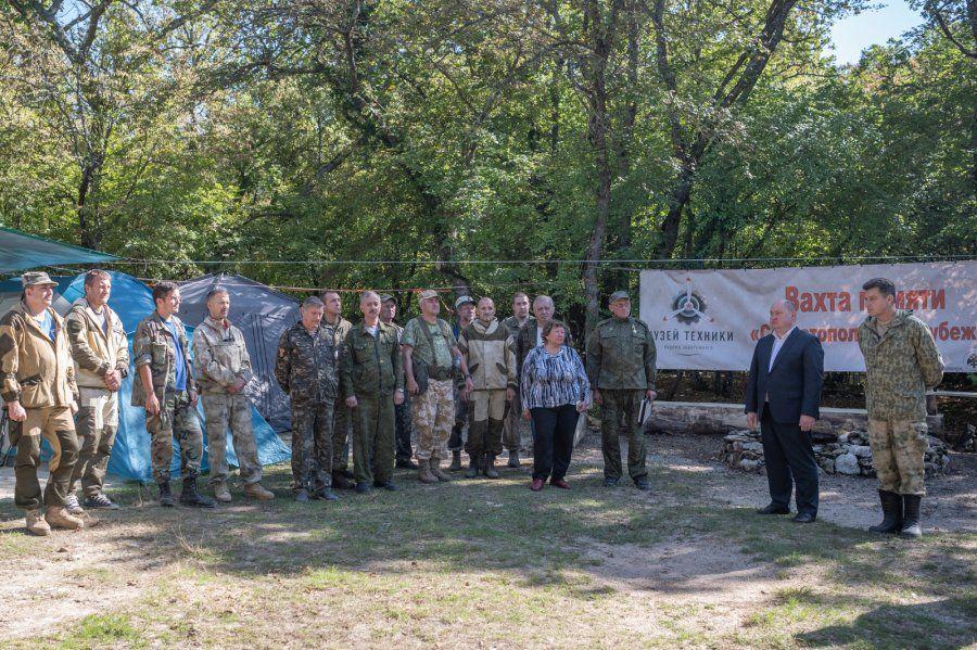 В Севастополе состоялось открытие Вахты памяти