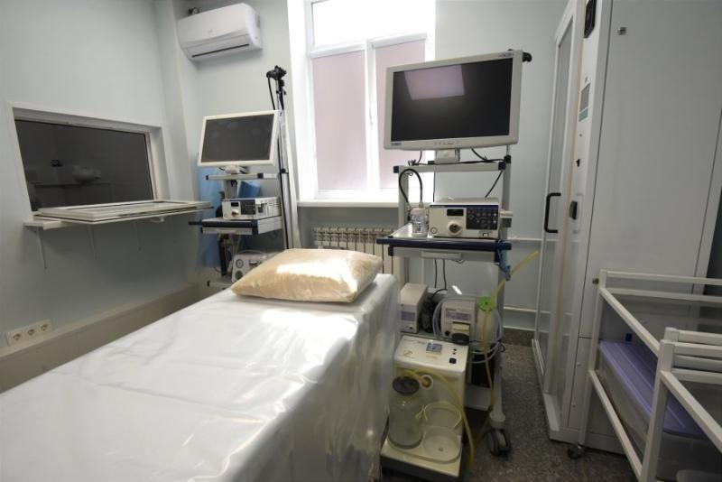 В «Портовой» поликлинике на улице Бориса Михайлова начал работать кабинет эндоскопии