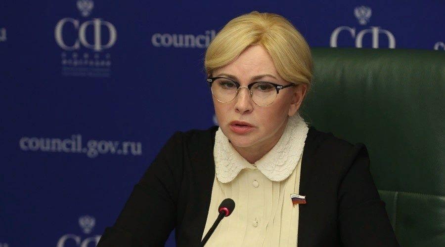 Сенатор от Крыма поддержала законопроект о региональной власти