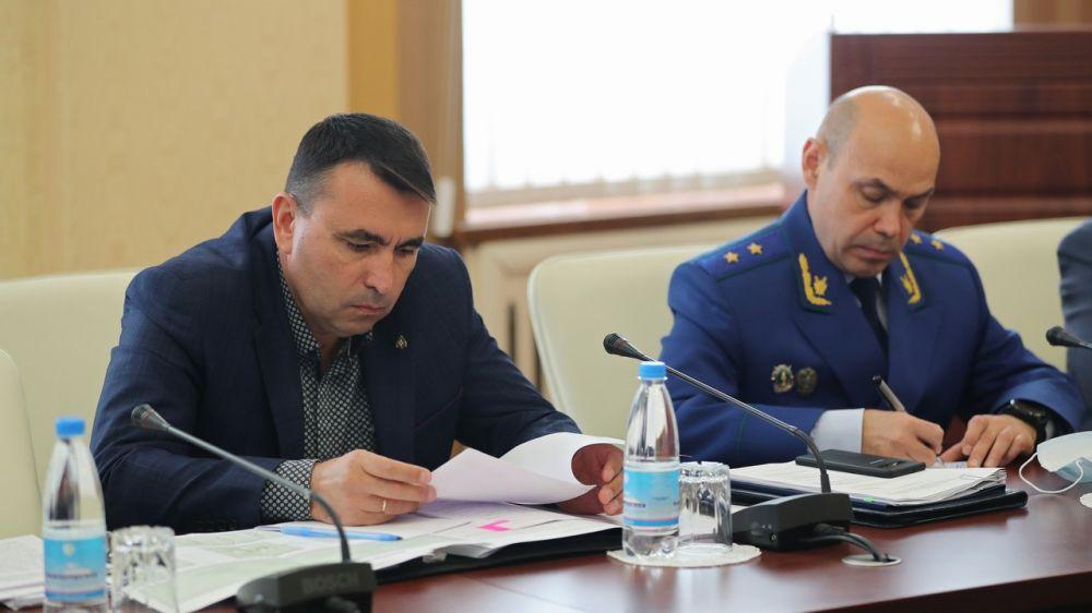 Сергей Садаклиев принял участие в заседании Совета при полпреде Президента Российской Федерации в ЮФО в режиме видеоконференцсвязи