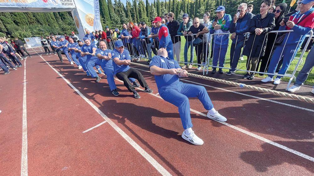 В Алуште завершился Фестиваль культуры и спорта народов Юга России