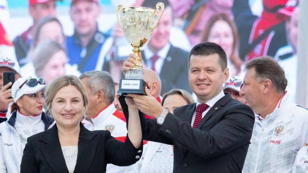 В Крыму состоялся «Фестиваль культуры и спорта народов Юга России – 2021»