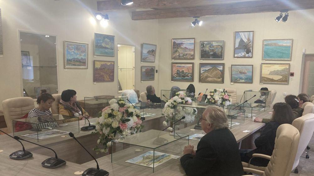 В Музее Марины и Анастасии Цветаевых представлены 42 работы участников пленэров