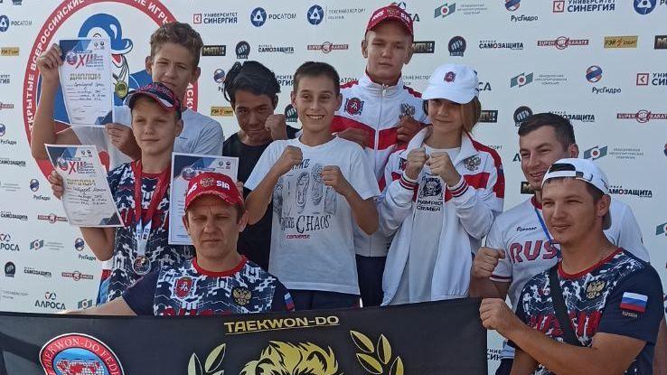 В пос. Витязево (г. Анапа, Краснодарский край) завершились XIII открытые Всероссийские юношеские Игры боевых искусств