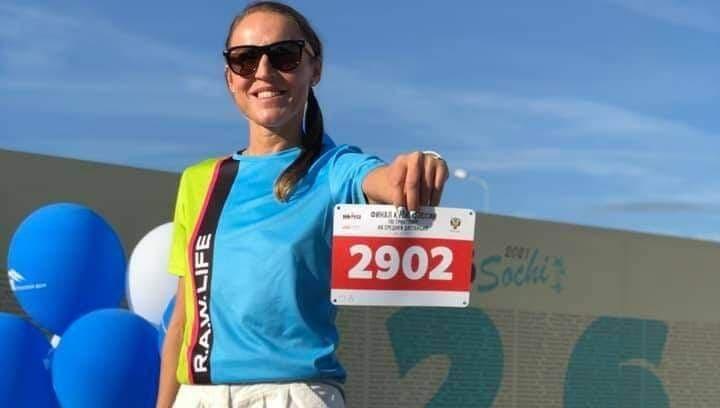 Крымчанка победила на чемпионате России по триатлону