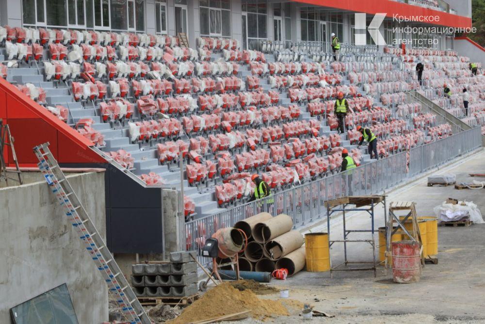 Вскоре на стадионе «Авангард» в Ялте приступят к укладке беговых дорожек