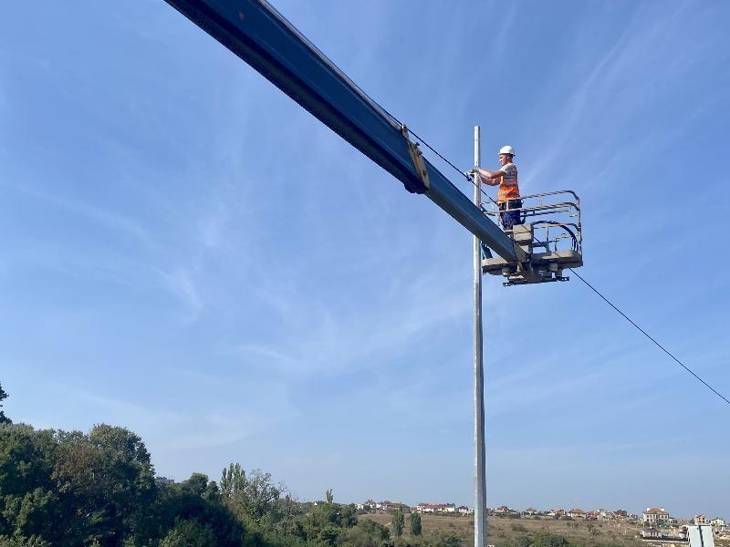 Почти тысяча новых уличных светильников появится в районе 5-го и 7-го километра Балаклавского шоссе