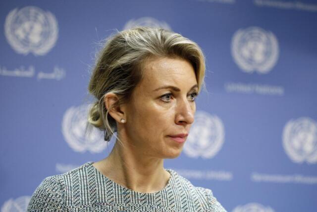 Захарова посоветовала Киеву прежде чем «браться» за Поклонскую научиться применять правосудие у себя в стране