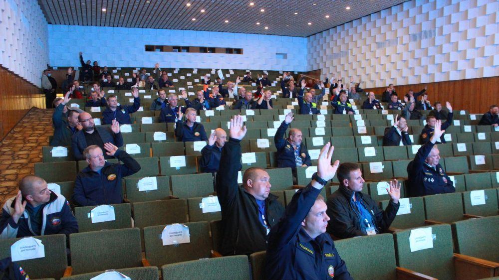 Всероссийская конференция представителей аварийно-спасательных служб, аварийно-спасательных формирований приняла итоговую резолюцию