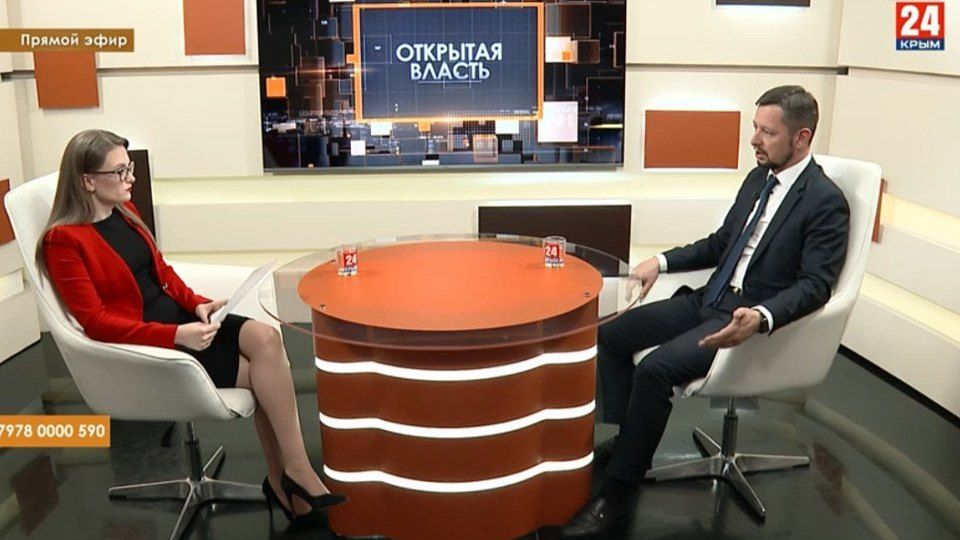 """Дмитрий Скобликов принял участие в программе """"Открытая власть"""""""