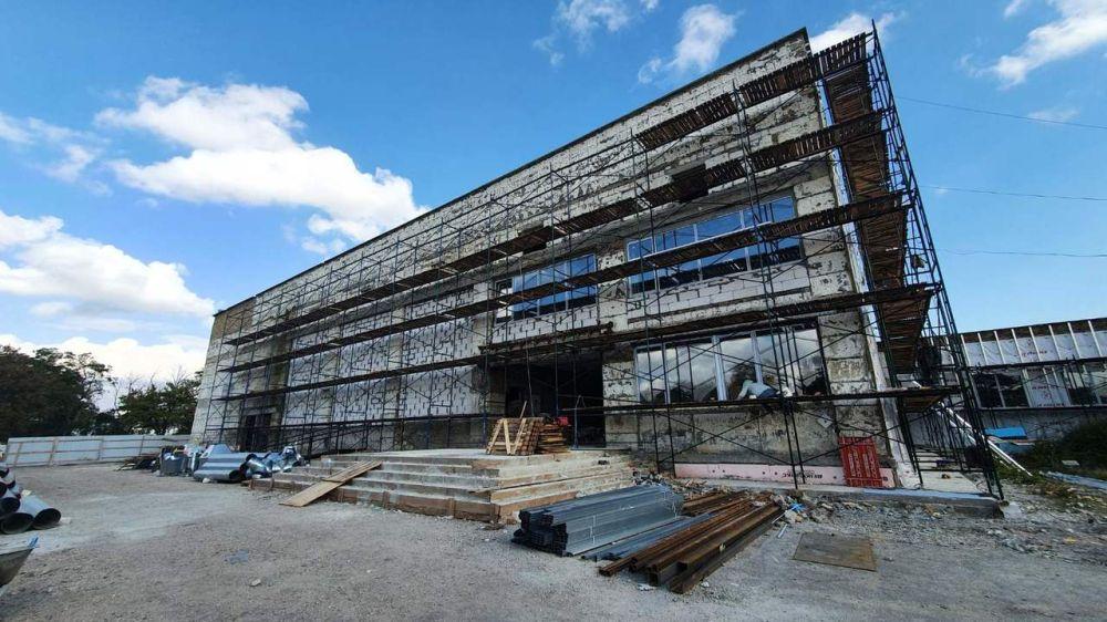 Дом культуры в с. Полтавка - мониторинг ремонтных работ