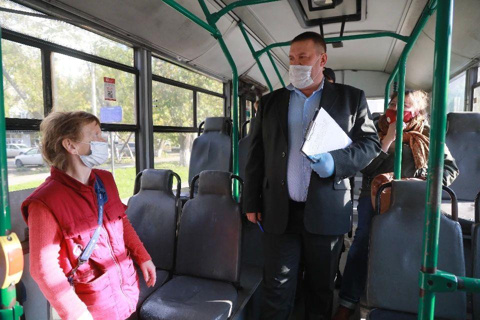 В Симферополе начались массовые проверки общественного транспорта