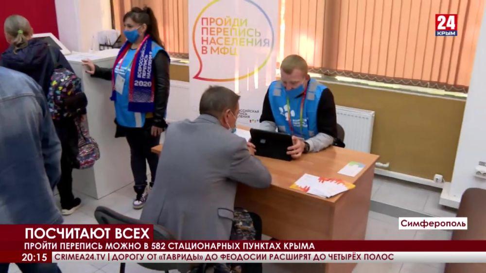 Около 3,5 тысяч переписчиков пройдут по домам крымчан