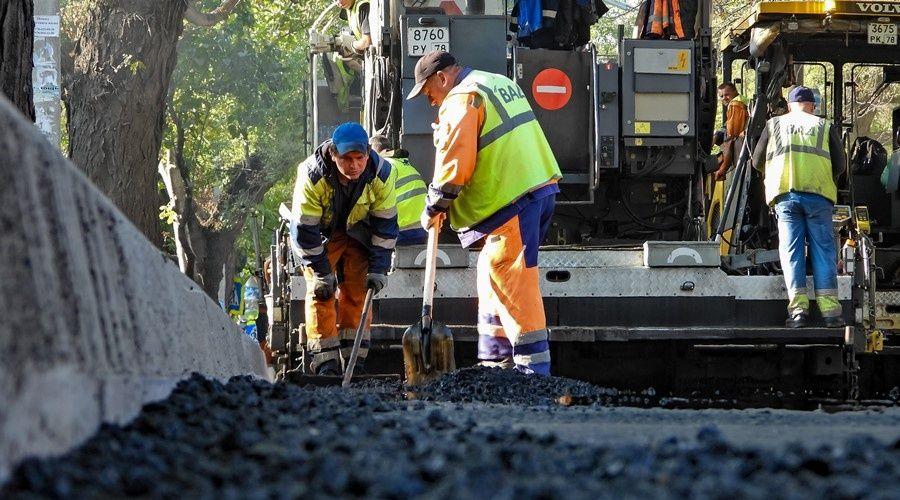 Центральные и проездные улицы Симферополя «ВАД» отремонтирует к декабрю