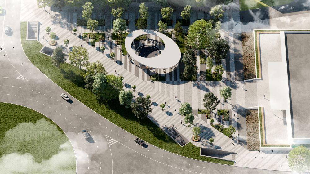 Стали известны новые сроки завершения благоустройства площади Куйбышева в Симферополе