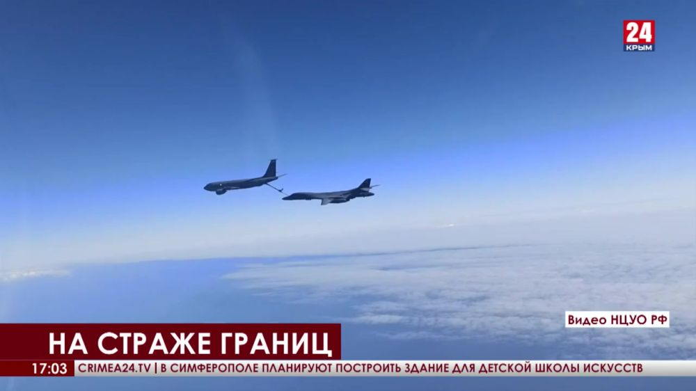 Истребители авиации Черноморского флота сопроводили самолёты США над Чёрным морем