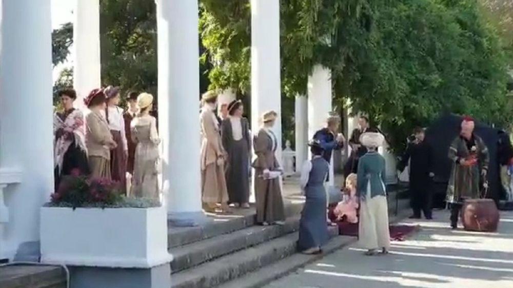 В Крыму снимают фильм о Фаине Раневской