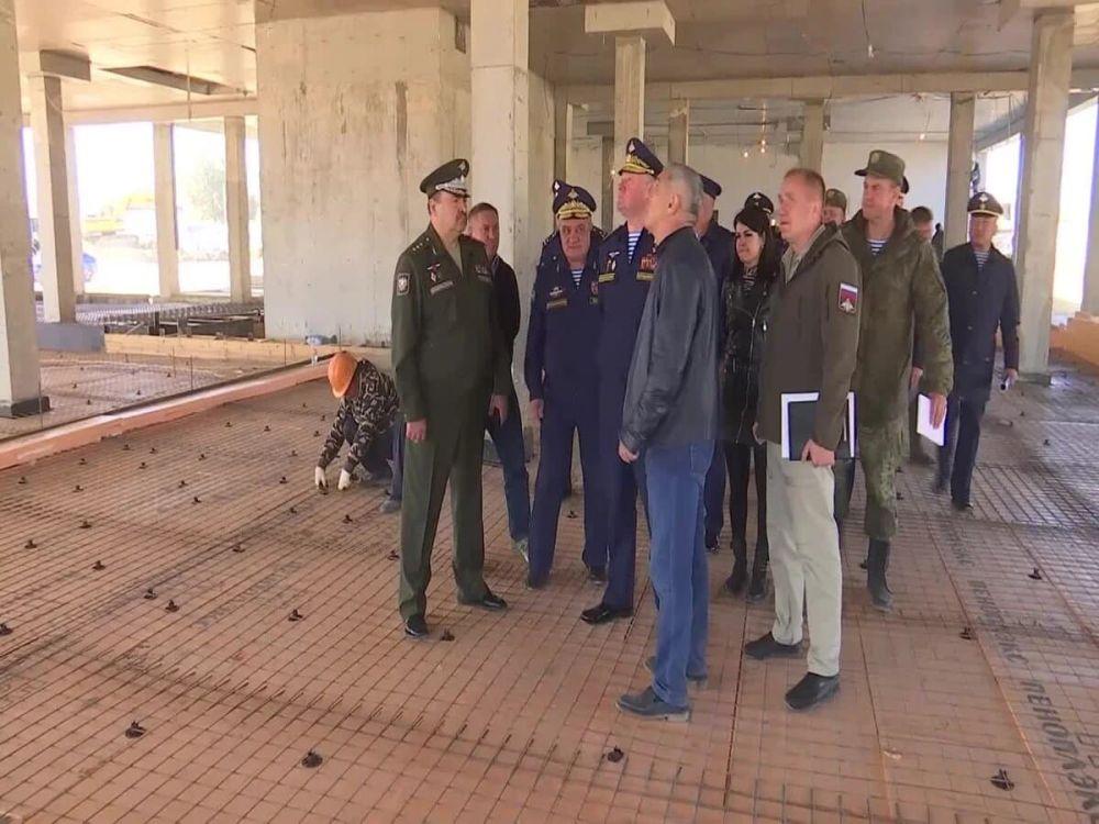 Для нового десантно-штурмового полка в Крыму построят новое жильё, парк и детсад