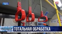Антисептики и специальные растворы: Севастопольские троллейбусы теперь дезинфицируют чаще