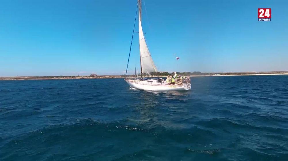 В водах Чёрного моря проводятся десятки парусных регат, и заметно увеличился флот