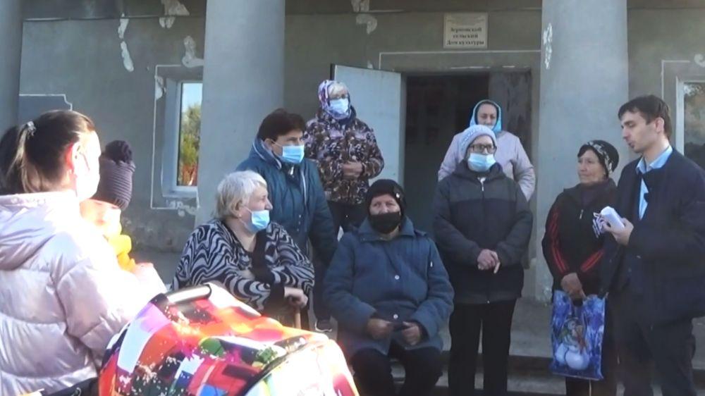Встреча в селе Зерновое: вопросы о льготных препаратах и вакцинации