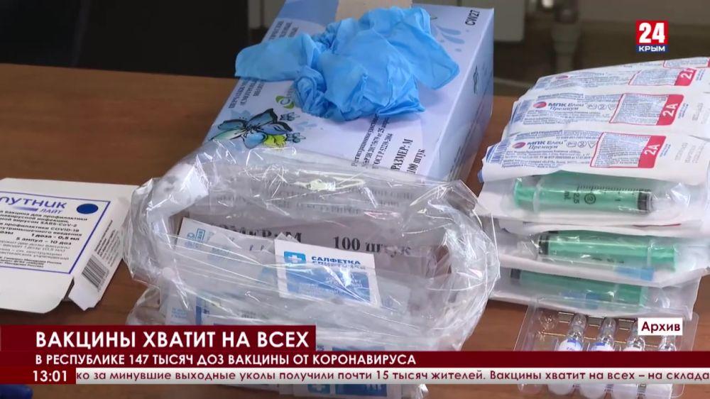В Крыму растёт число привившихся от COVID-19