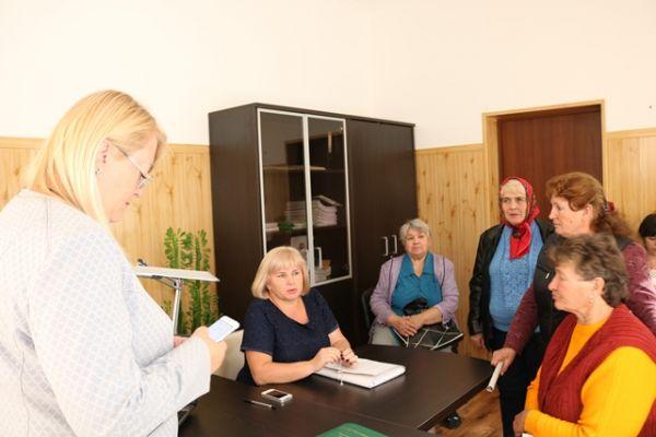 Министр финансов Крыма провела выездной прием граждан