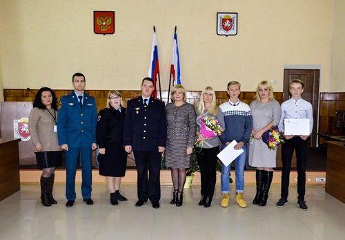 ВСовете Федерации наградили детей-героев