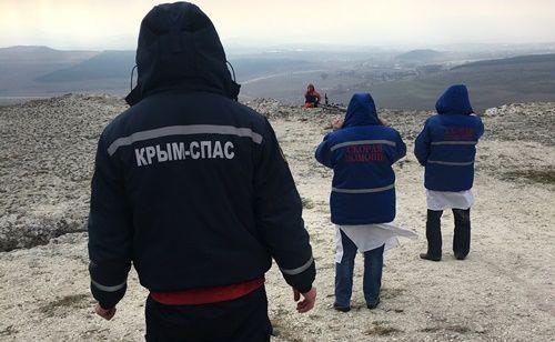 Сотрудники «КРЫМ-СПАС» спасли женщину от суицида