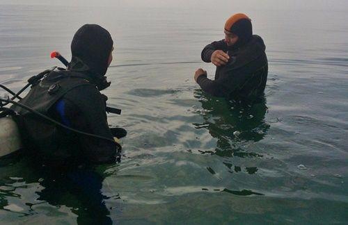 Спасатели Судакского отряда «КРЫМ-СПАС» провели учебно-тренировочное занятие по погружению с водолазным снаряжением